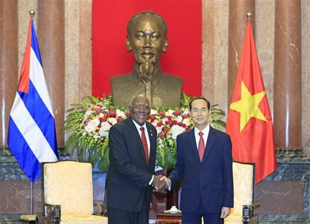 Vietnam determined to continue strengthening solidarity with Cuba hinh anh 1