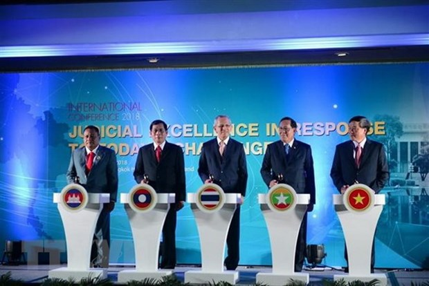 Chief justice attends int't judicial conference in Thailand hinh anh 1