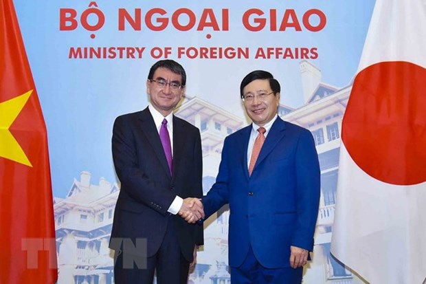 Vietnam, Japan discuss measures to boost bilateral ties hinh anh 1