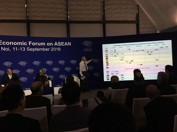 WEF ASEAN: Regional military spending not about China, says academic hinh anh 1