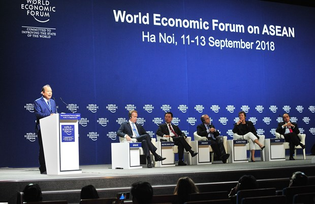 World Economic Forum on ASEAN 2018 comes to a close hinh anh 1
