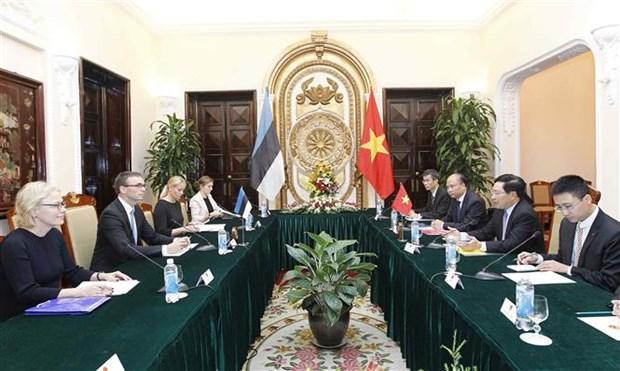 Vietnam, Estonia eye stronger bilateral ties hinh anh 1