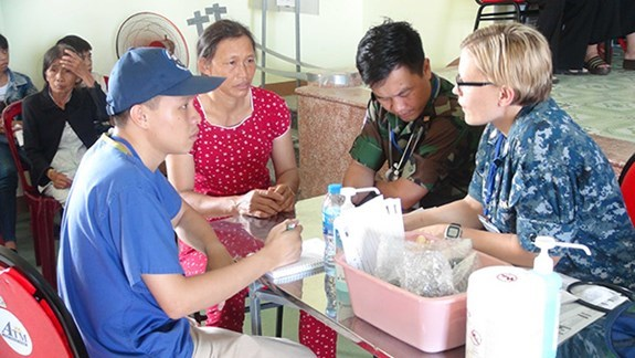 US Pacific Angel features humanitarian assistance in Vietnam hinh anh 1