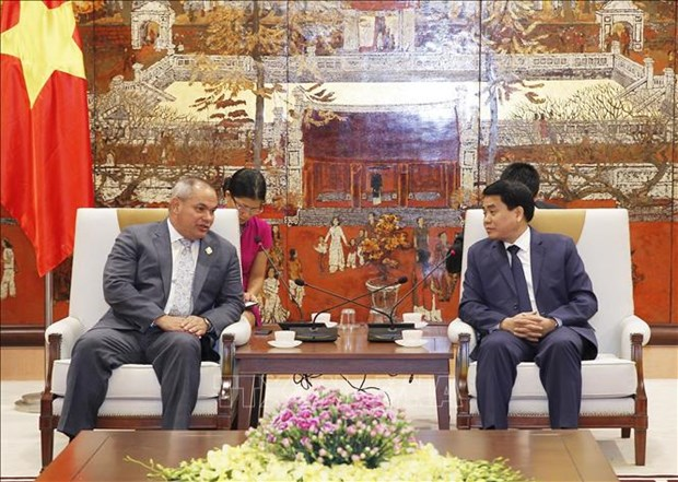 Hanoi, Gold Coast leaders discuss bilateral ties hinh anh 1