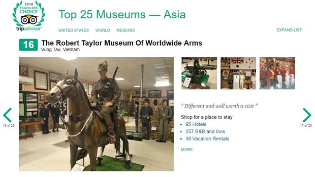 War Remnants Museum listed among world top 10 museums hinh anh 6