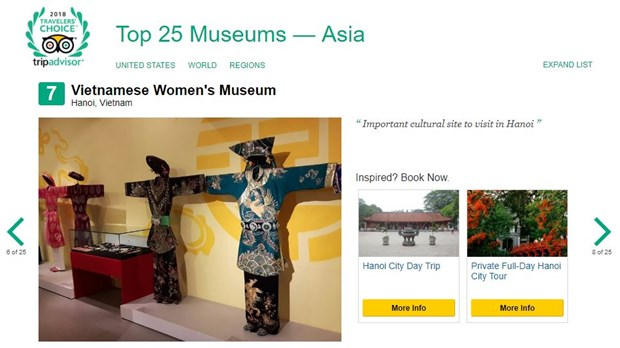 War Remnants Museum listed among world top 10 museums hinh anh 4