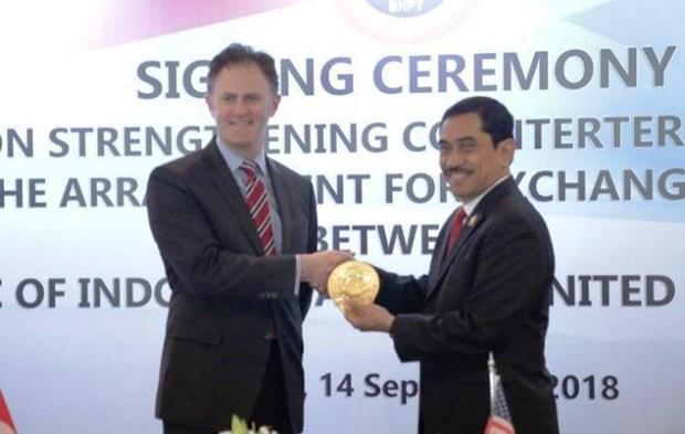 US, Indonesia tighten counterterrorism cooperation hinh anh 1