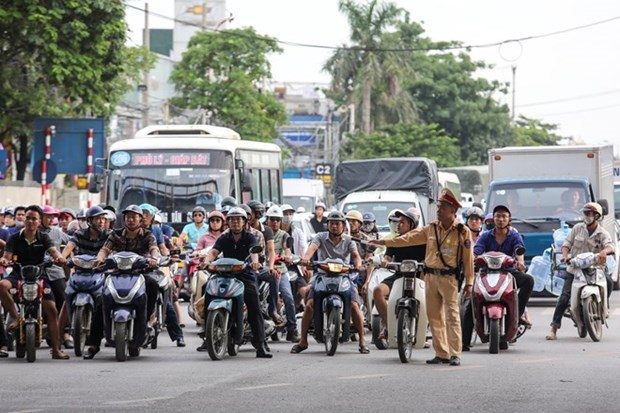 Capital city hopes fees will reduce congestion hinh anh 1
