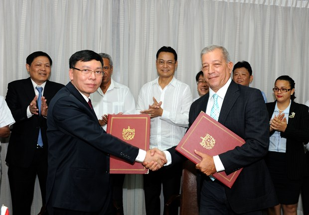 Vietnam presents 5,000 tonnes of rice as gift for Cuba hinh anh 1