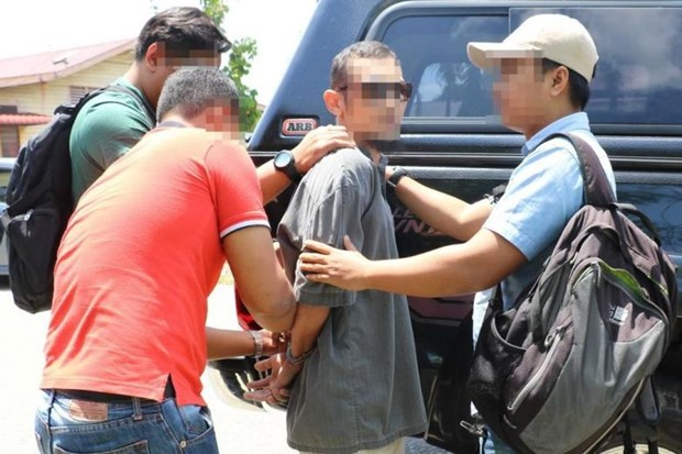 Malaysian police foil terror scheme, arrest 10 suspects hinh anh 1