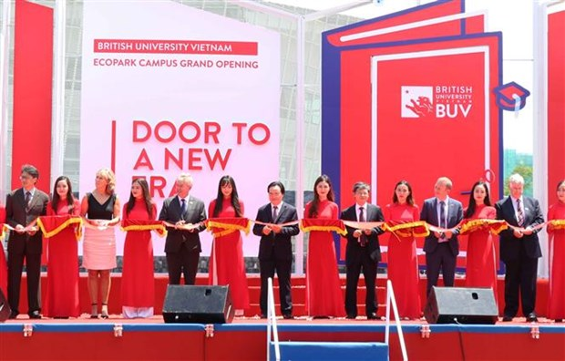 British University Vietnam's new campus inaugurated in Hung Yen hinh anh 1