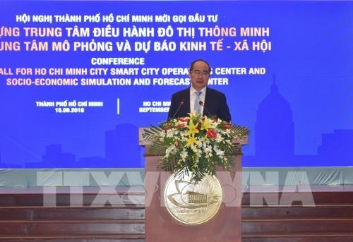 HCM City calls for investment in building smart city hinh anh 1