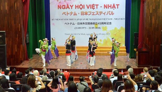 HCM City hosts Vietnam-Japan festival hinh anh 1