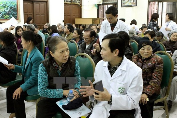 Da Nang works to care for the elderly hinh anh 1