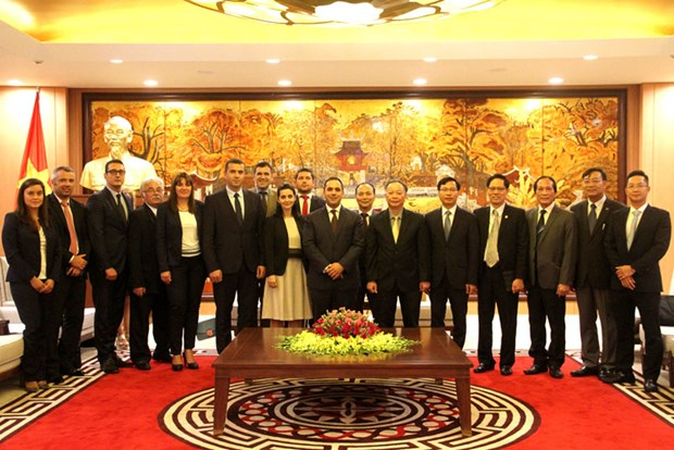 Hanoi steps up cooperation with Bulgarian localities hinh anh 1
