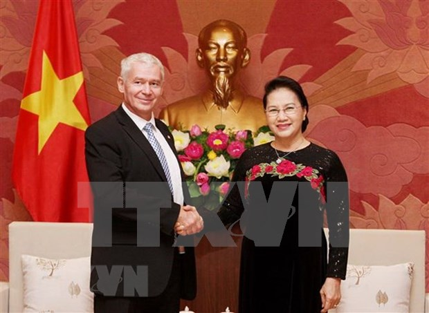 NA Chairwoman welcomes Hungarian chief prosecutor hinh anh 1