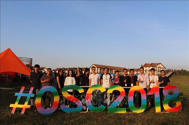 400 Vietnamese students participate in Russian summer camp hinh anh 1