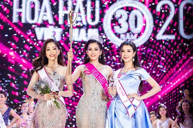 Quang Nam province's girl crowned Miss Vietnam 2018 hinh anh 1