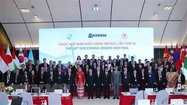 ASOSAI Governing Board meets in Hanoi hinh anh 1