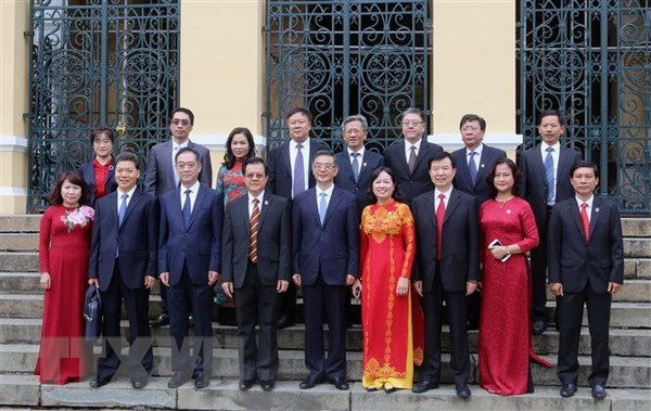 Chinese Chief Justice welcomed in Hanoi hinh anh 1