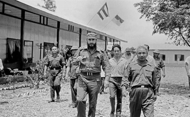 Fidel Castro's trip to Quang Tri: Symbol of Vietnam-Cuba solidarity hinh anh 1