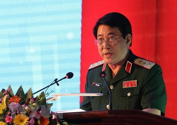 Vietnam army's delegation visits Laos, Cambodia hinh anh 1