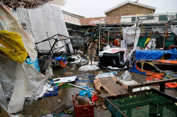 Sympathies offered to the Philippines over Typhoon Mangkhut hinh anh 1