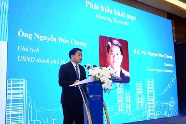 ASOCIO Smart City Summit 2018 opens in Hanoi hinh anh 1