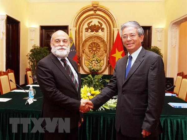 Vietnam, Venezuela hold 7th political consultation hinh anh 1
