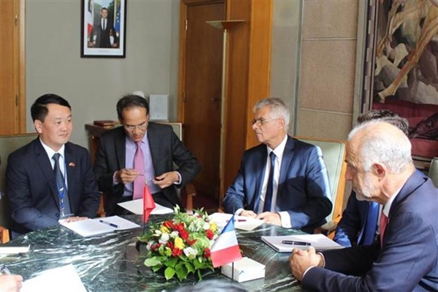 VFF, French socio-economic council enhance cooperation hinh anh 1