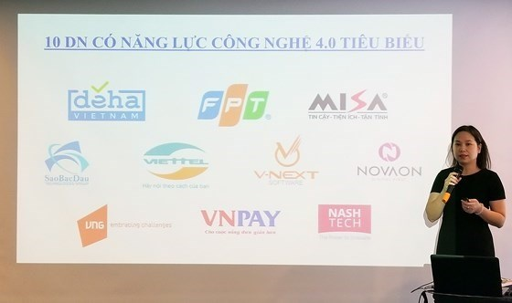 Vietnam's leading IT companies announced hinh anh 1