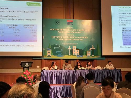 Workshop promotes cooperation in ensuring just energy transition hinh anh 1