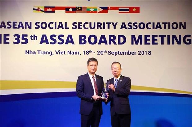 Vietnam Social Security receives ASEAN award in IT hinh anh 1