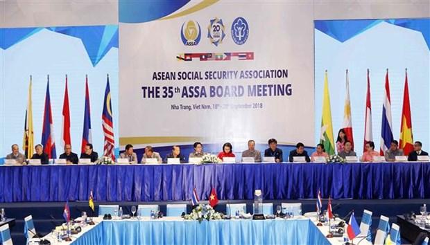 35th ASEAN Social Security Association meeting closes in NhaTrang hinh anh 1