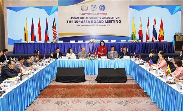Vietnam takes over ASEAN Social Security Association chairmanship hinh anh 1