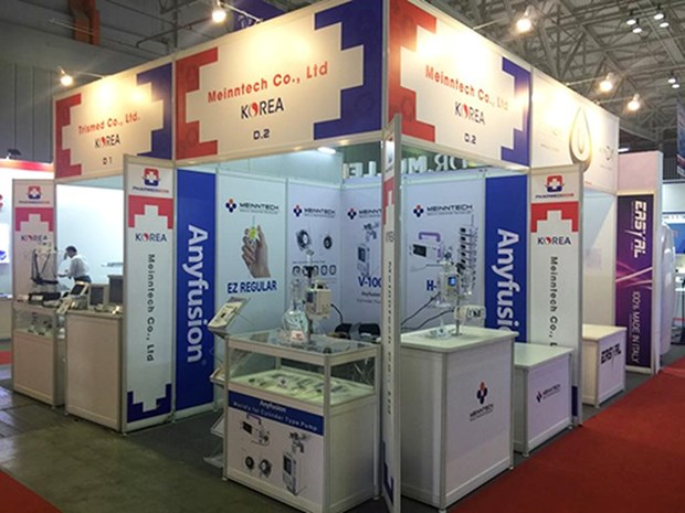 Cutting-edge medical equipment on display at HCM City Expo hinh anh 1