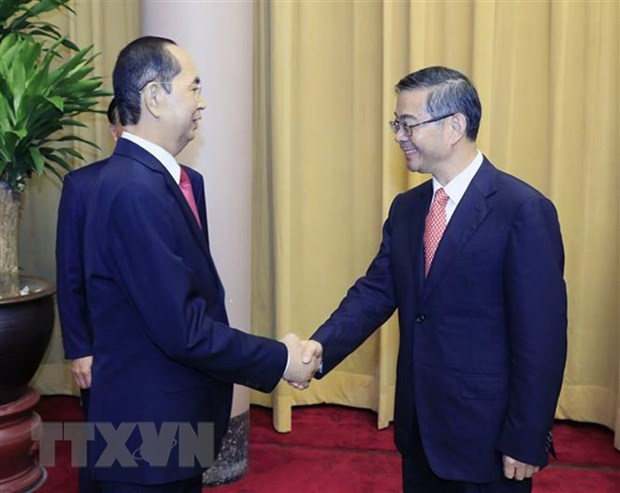 President hosts Chinese Chief Justice hinh anh 1