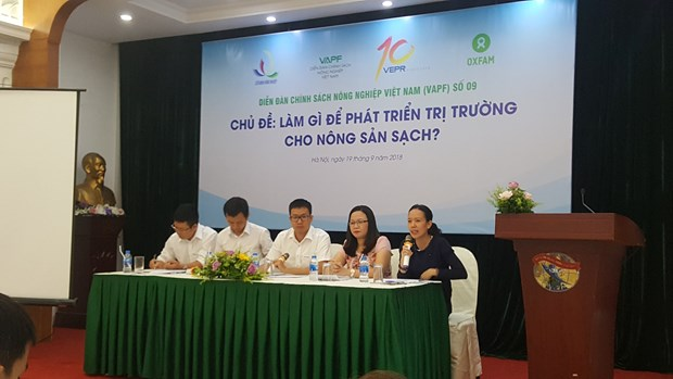 Measures sought to develop market for organic products hinh anh 1