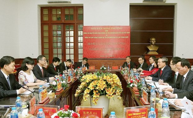 Vietnam, China court sectors enhance collaboration hinh anh 1