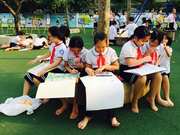 Contest raises children awareness of water resources protection hinh anh 1