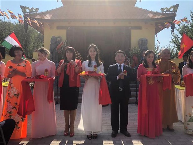 First Vietnamese pagoda recognised in Hungary hinh anh 1