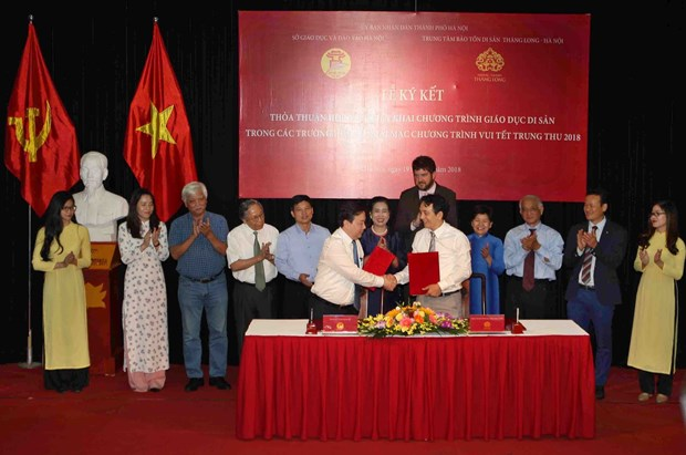 Hanoi to include local heritage sites in schools' curriculum hinh anh 1