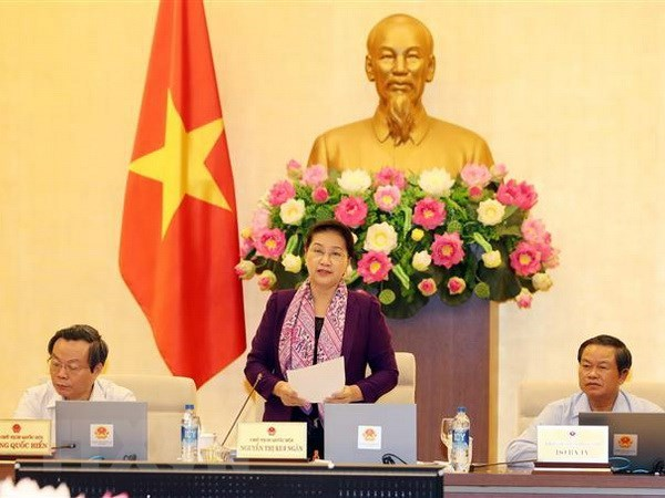 NA Standing Committee's 27th meeting concludes hinh anh 1
