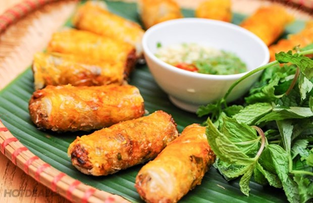 Vietnam's signature dishes introduced in Ukraine hinh anh 1
