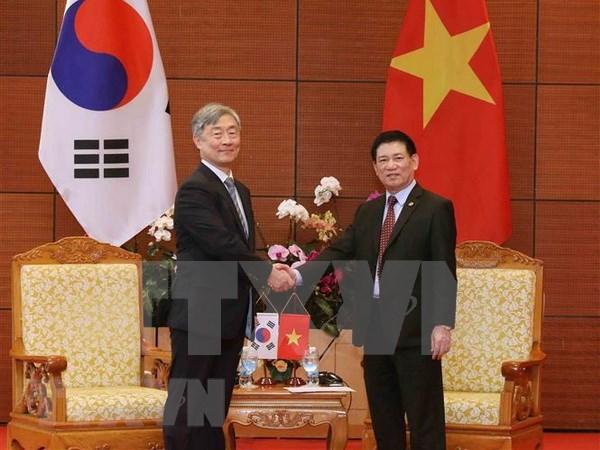 Vietnam, RoK plan joint audit on ASOSAI 14 sidelines hinh anh 1