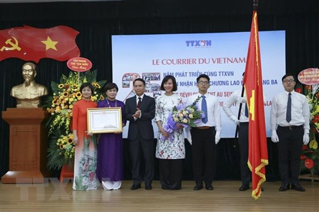 Le Courrier du Vietnam – nation's important foreign information channel hinh anh 1