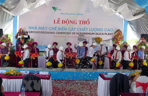 Work starts on first low-iron quartz powder plant in Vietnam hinh anh 1