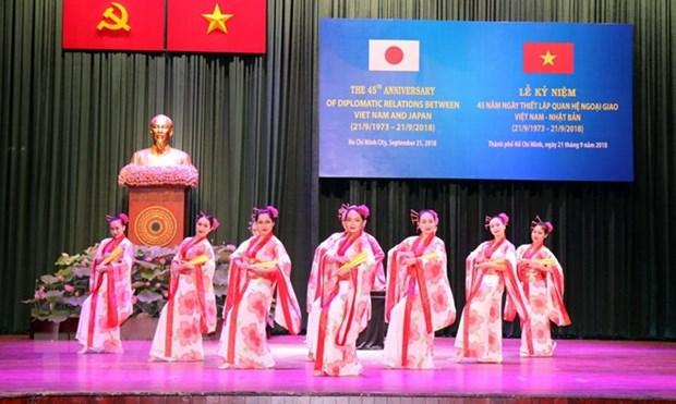 Ho Chi Minh City marks 45 years of Vietnam-Japan diplomatic ties hinh anh 1