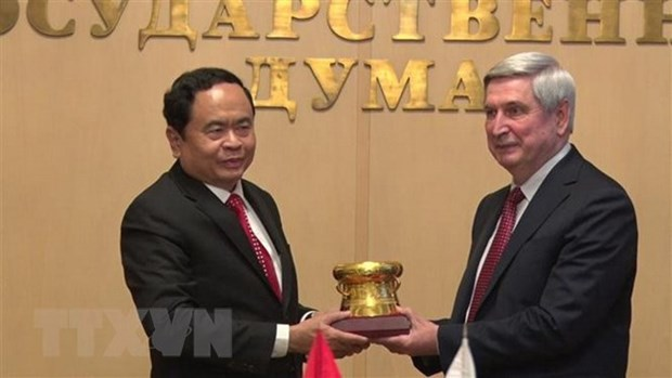 Russia treasures ties with Vietnam: Russian senior official hinh anh 1
