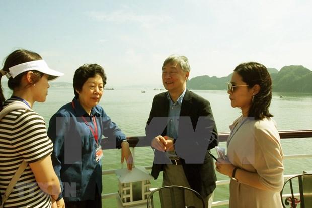 ASOSAI 14: delegates of Asian supreme audit institutions visit Quang Ninh hinh anh 1